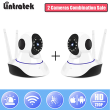 hot deal buy surveillance ip wifi camera hd 720p mini wi-fi security camera combination sale wireless home cctv baby monitor cam lintratek