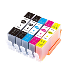 564 XL 564XL Compatible ink cartridge For HP Photosmart 5510 5511 5512 5514 5515 5520 5525 6510 6512 6515 6520 7510 7515 2015 new [hisaint]2pk ink cartridge for hp 564xl black photosmart 5510 5514 5515 5520 6520 printer