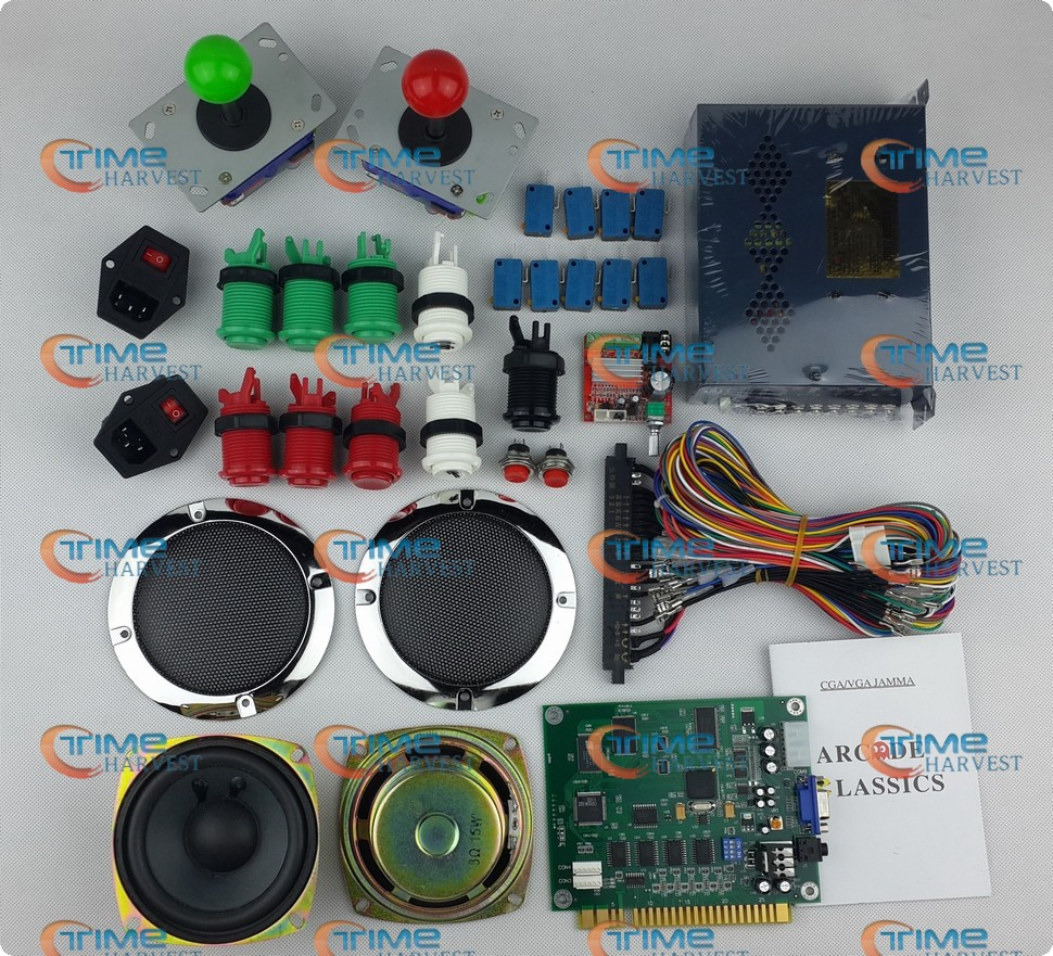 Arcade Parts Bundles Kit With Joystick Pushbutton Microswitch Player Machine China Coffee Circuit Board Vending We Offer Good Quality Pc Video Game Multi Cartridge Pinball Kiddy Rides Abs Cabinet Available For
