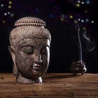 Chinese Zen Buddha Head Decoration Southeast Asia Thailand SPA Club Thai Restaurant Home Decoration Crafts Buddha Statue