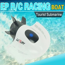 HOT New RC Mini Tourist Submarine Remote Radio Control Electric Boat Create High Speed Racing Toys 27MHz Professional RC Ship