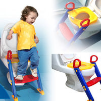 Toilet Kids Ladder Baby Toddler Training Toilet Step Potty Seat Non Slip Trainer Baby Exercise Safety Folding Ladder