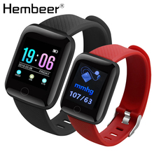 Hembeer D13 1.3 Inch Smart Watch Men IP67 Waterproof Heart Rate Monitor Smartwatch Women For Android IOS Apple Watch Phone