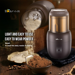 Small Multifunction Food Mill Grinding Machine Home Portable Stainless Steel 200g Food Beans Pepper Mill Herbs Nuts Cafe Grinder