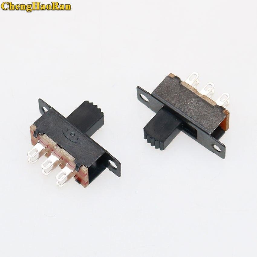 NEW 20pcs 5V 0.3A Black Mini Size SPDT Slide Switch On-Off 3-Pin PCB for DIY P0C