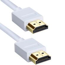 Cavo HDMI 1M 2M 3M 5M 10M HDMI al Cavo di HDMI HDMI 1.4 4K 1080P 3D per PS3 Proiettore HD LCD di Apple TV Cavi Del Computer