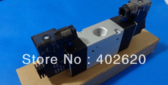 5pcs/lots free shipping Solenoide Valvula 3V420-15 1/2 Double coil, Boutique Solenoid Valve 2 position 3 way Solenoid Valve dhl ems 5 lots fes to myh 5 2 2 3 led myh5223led solenoid valve a1