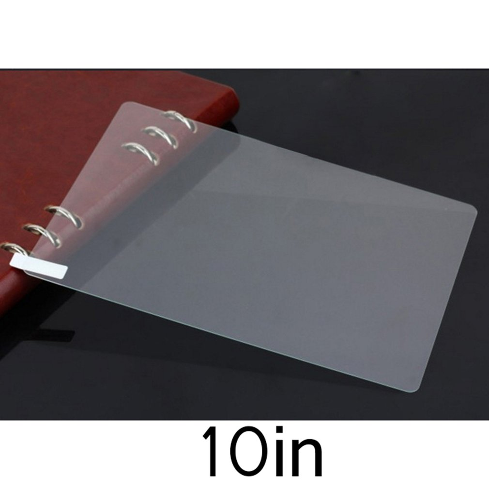 Universal Tempered Glass Super Clear Transparent Full Cover Protective Screen Film Suitable For 10.1 Inch Tablets