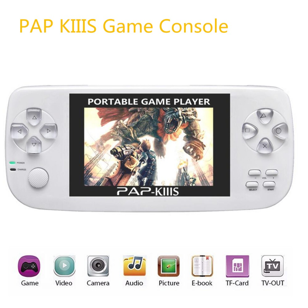 3.5inch Handheld Game Console 64Bit Video Games Perfectly Support Arcade Game/GBA/SFC/FC MP3 Music Game Player for kids