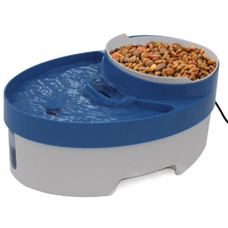 Productos para mascotas Perro Tazón Alimentador Automático de Mascotas Perros Au