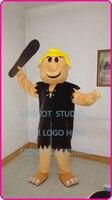mascot Barney Rubble mascot costume cartoon character anime mascotte fancy dress carnival costume