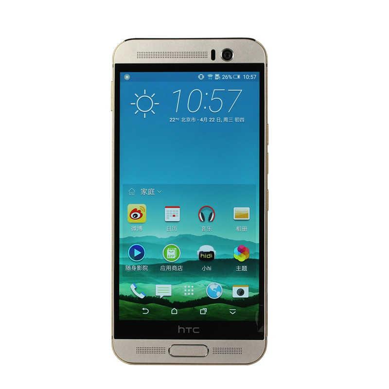 """Оригинальный htc ONE M9 + 5,2 """"разблокированный мобильный телефон M9 plus Восьмиядерный 3 ГБ ОЗУ 32 Гб ПЗУ Распознавание отпечатков пальцев 4G-LTE"""