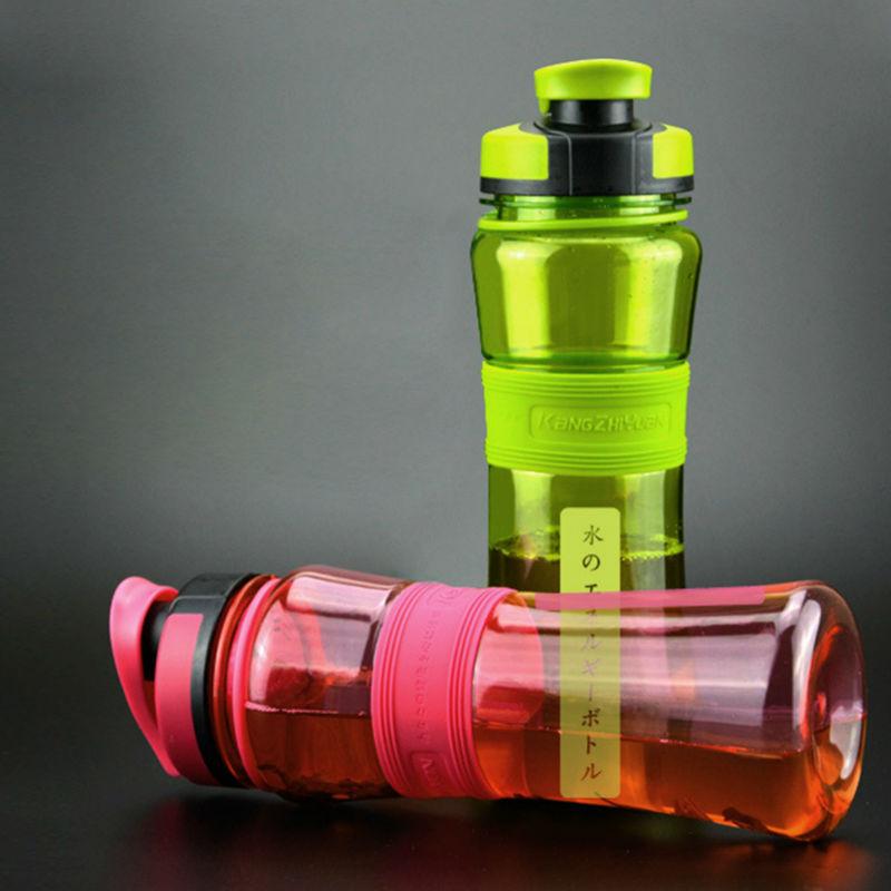 550ml Plastic Shaker Bottles Portable Sports Water Bottle With Infuser Flip Lid For Hiking Bicycle Cycling Camping Gym Running|water bottle with infuser|bottle with infuser|shaker bottle - AliExpress