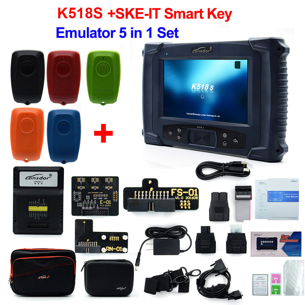 Image 3 - Original LONSDOR K518S Key Programmer Basic Version with  Update-in Auto Key Programmers from Automobiles & Motorcycles on
