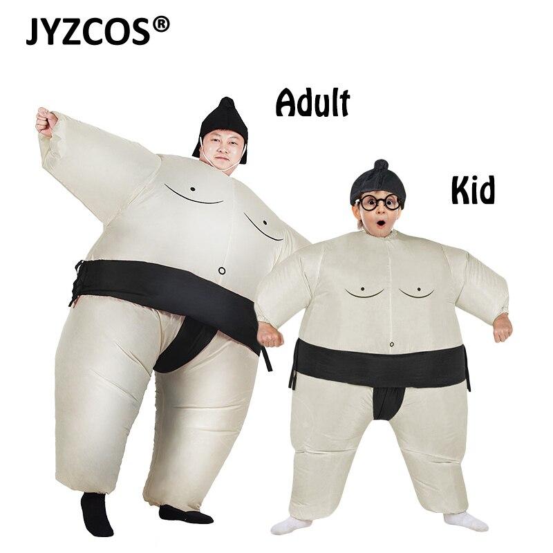 JYZCOS Dospělí Nafukovací Airsuit Sumo Obleky Zápasník Kostým - Kostýmy