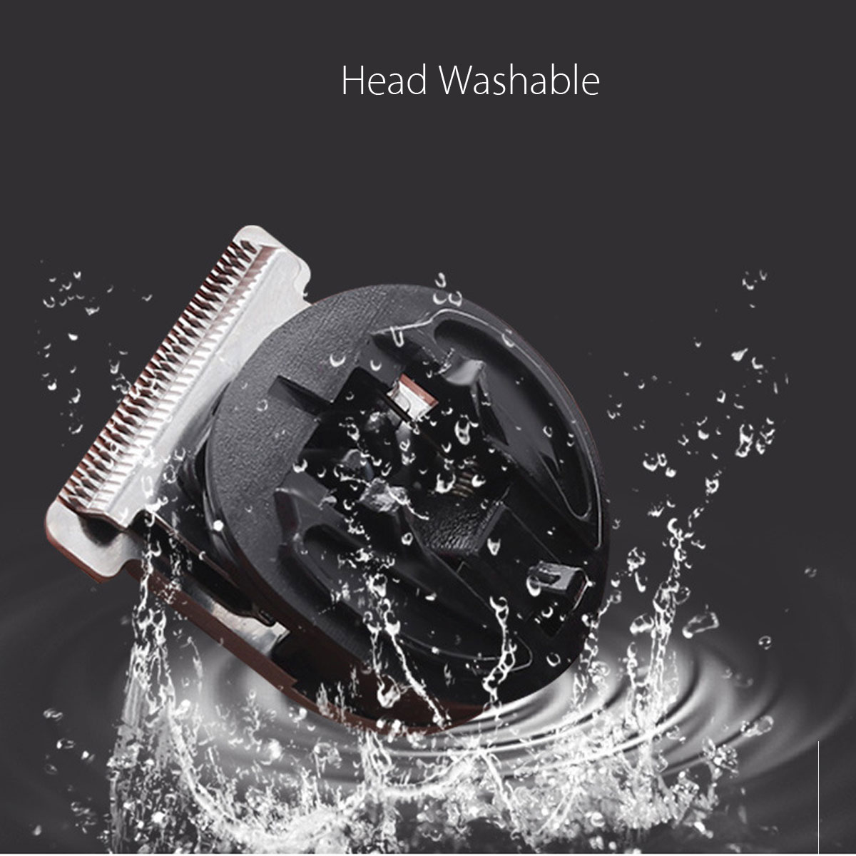 KEMEI All in1 Rechargeable Hair Clipper for Men Waterproof Wireless Electric Shaver Beard Nose Ear Shaver Hair Trimmer Tool 1