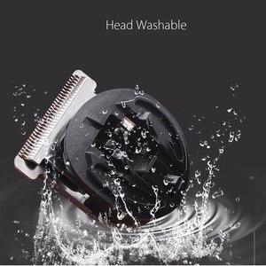 Image 2 - Аккумуляторная машинка для стрижки волос KEMEI All in1 для мужчин, водонепроницаемый беспроводной электробритва, борода, носа, ушной триммер, триммер для волос