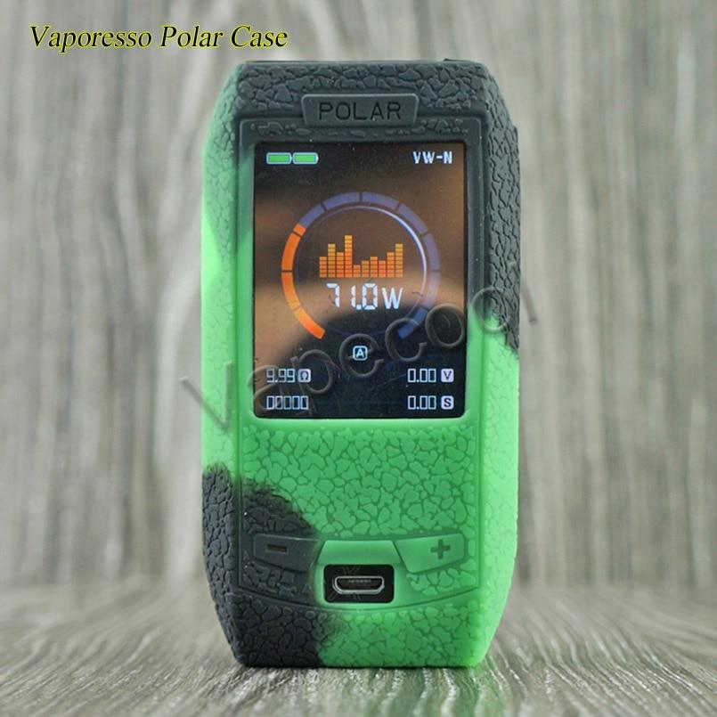 10pcs Vaporesso polar 220W Box mod Cover Case Silicone Skin Warp Sleeve is Non slip Thicker