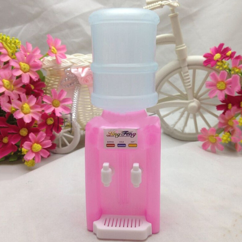 2017 High Quality Plastic Cute Water Fountains Doll House Furniture Play House Toys Dolls Accessories