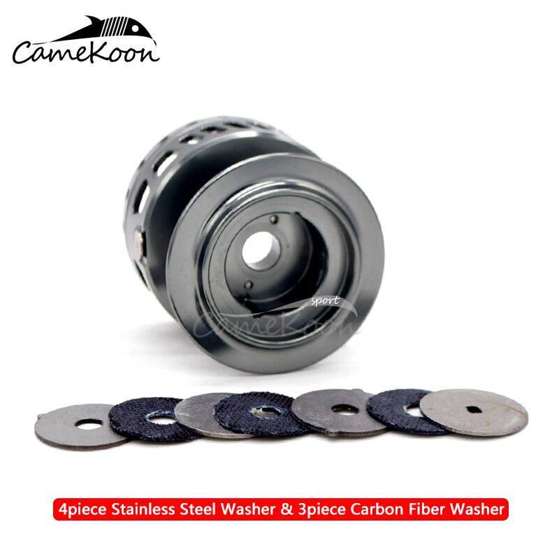 CANEKOON WT3000WT4000 Liga de Alumínio Carretel de