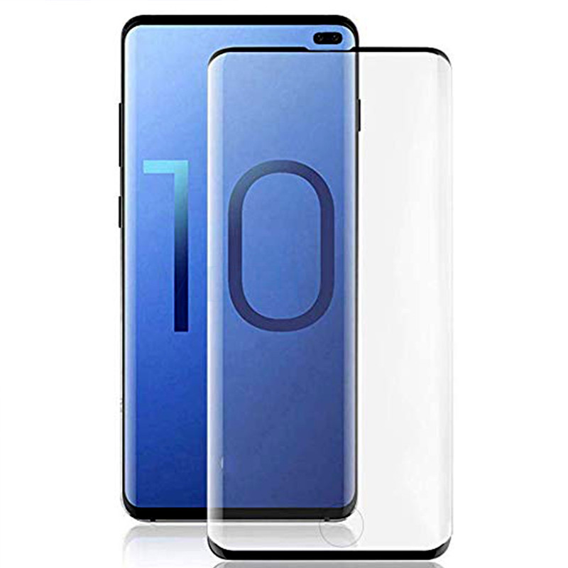 Image 2 - Protective glass on for Samsung s10e s10 plus for galaxy s9 s8 tempered glas s 10 e 9 8 s10plus samsong gelaksi screenprotector-in Phone Screen Protectors from Cellphones & Telecommunications