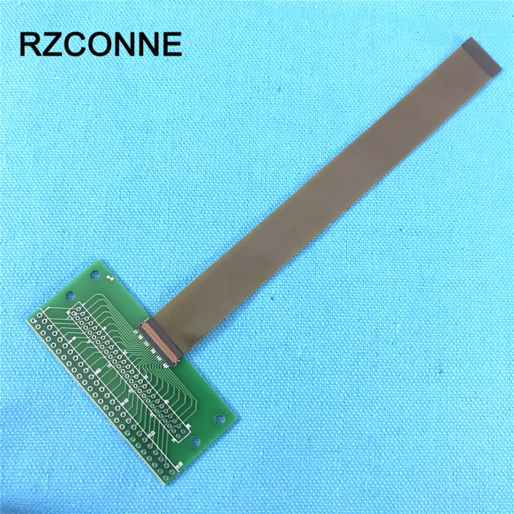 51Pin Connector 2.0mm 2.54mm Cable To 0.3mm Pitch DIP FPC LVDs MIPI Adapter With FPC Flexible Flat Cable 60mm-250mm Choose