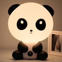 New PVC Plastic Sleep Led Kid Lamp Bulb Nightlight For Children EU Plug Baby Bedroom Lamps
