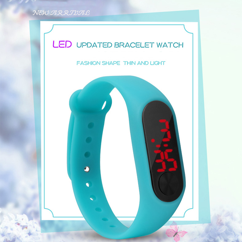 Cheap LED Kids Watch Children Digital Clock Watches For Girls Boys Silicone Sport Watches Relogio Montre Enfant Pretty Gift Hour
