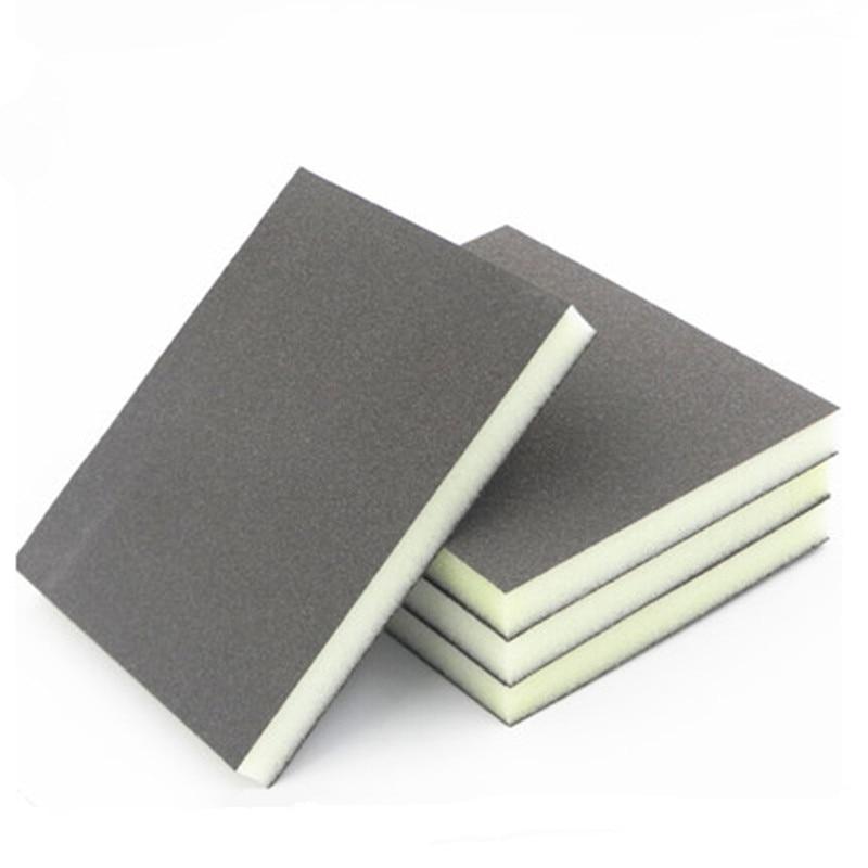 250 pz abrasivo panno abrasivo 120-180 maglia carta vetrata spugna - Abrasivi - Fotografia 3