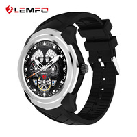 LEMFO LF17 Smart Watch Men For Android Phone 3G WIFI SIM Card GPS Bluetooth Heart Rate Monitor Pedometer Android Smartwatch