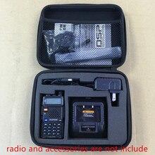 Carry storage bag case handbag for Baofeng UV5R,UV5RE,UV5RA,TYT TH F8,TH F9, Tonfa TF-UV985 etc walkie talkie