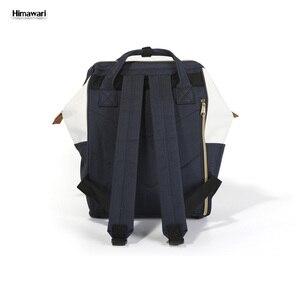 Image 5 - Himawari מותג באיכות גבוהה נשים תרמיל בנות בית ספר תיק מזדמן כתף תיק נסיעות תרמיל אופנה ילקוט המוצ ילה נקבה