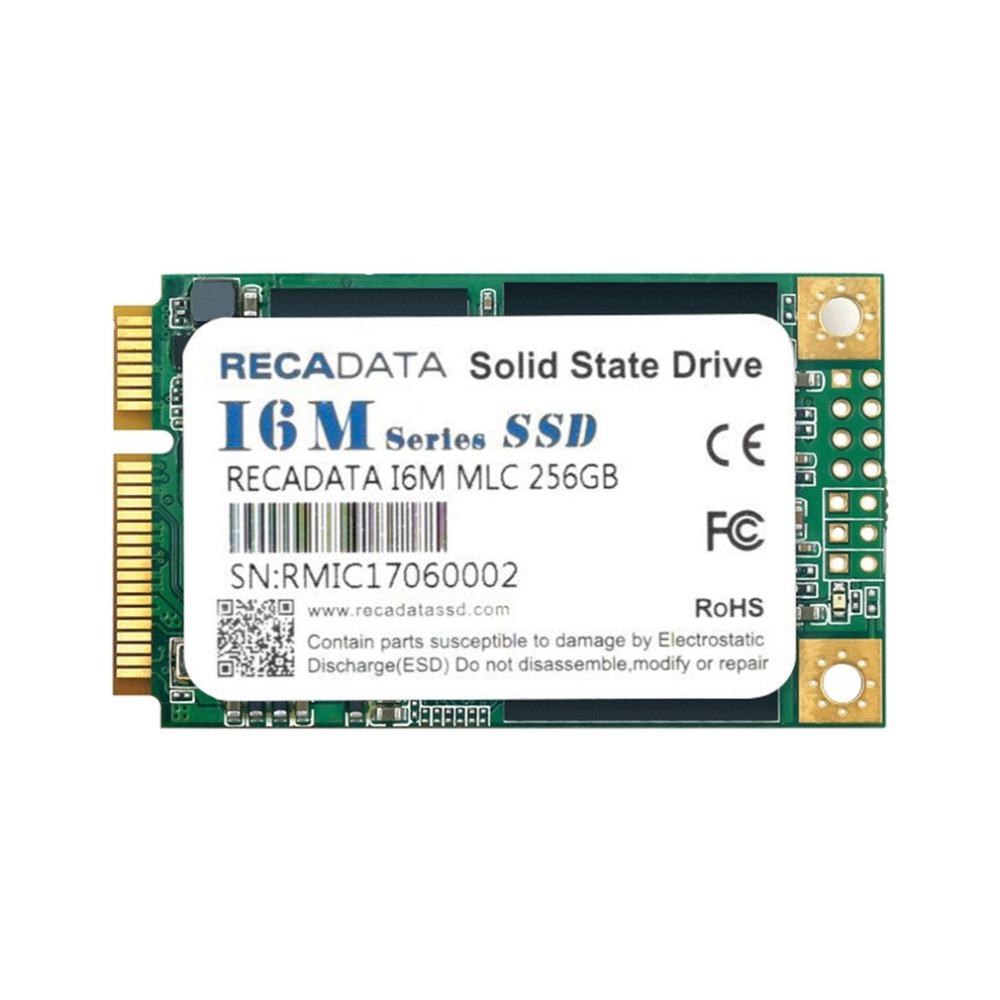 RECADATA 256GB SSD M.2 Solid State Drive mSATA III MLC Flash For Linux Windows 7/ 8/10 For Mac OS msata ssd to 2 5 sata drive convertor adapter card plug and play 50mm x 30mm for windows2000 xp 7 8 10 for vista linux mac