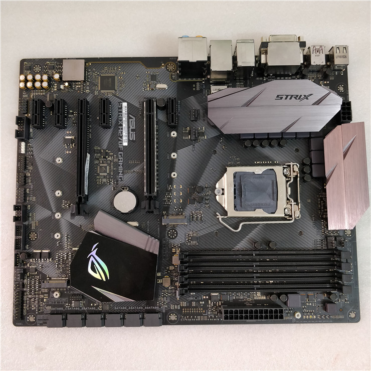 ASUS ROG STRIX H270F GAMING Motherboard Raptor Series H270 Overclocking Game Board Used Original