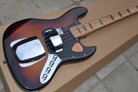 Free delivery factory custom jazz bass 4 string and sundown electric bass guitar instrument shop.