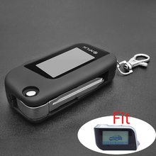 New Version A93 Cover Case Keychain with Key Blade with Glass for Starline A93 LCD Two Way Remote Controller Protective Shell