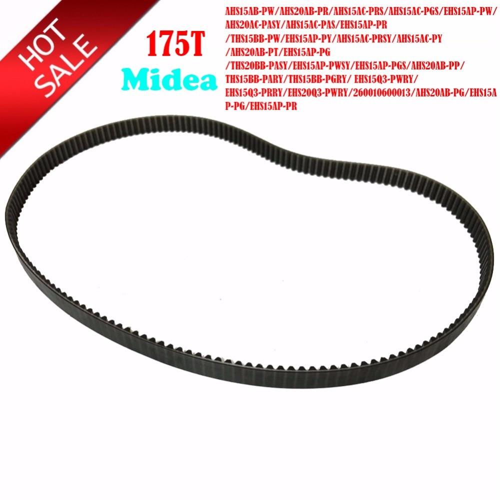 Universal Type Bread Machine Belts 175T 525mm Bread Maker Parts Breadmaker Conveyor Belts For Midea AHS15AB-PW/AHS20AB-PR...