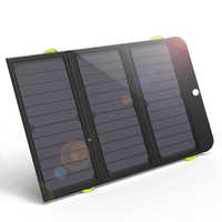 ALLPOWERS Newest Solar Panel Charger Rechargeable Solar Charger 6000mAh for iPhone 6 6s 7 7plus 8 iPhone X Huawei Xiaomi Samsung