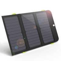 ALLPOWERS más del cargador del Panel Solar recargable del cargador Solar 6000mAh para iPhone 6 6s 7 7plus iPhone X Huawei Xiaomi Samsung