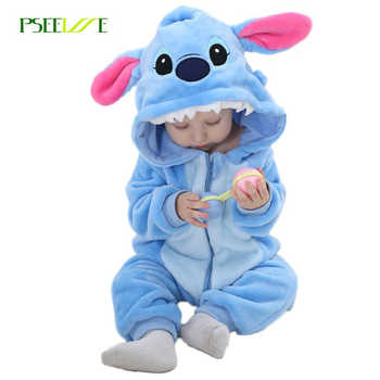 Infant Romper Animal Rompers Baby Boys Girls Jumpsuit  New born Toddler Baby Clothes Hooded  Flannel Stitch Panda Costumes - DISCOUNT ITEM  40% OFF All Category