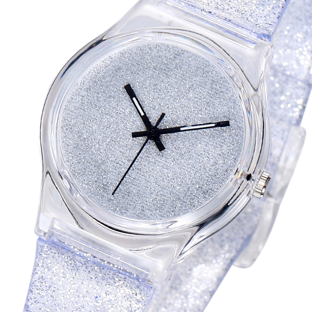 White Bling Watch For Kids Simple Fashion Gift Girls Quartz Children Watch Drop Shipping Cute Ladies Student Watch Clock