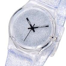 White Bling Watch for Kids Simple Fashion Gift Girls Quartz Children Wa