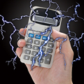 Fun Toy Calculator Electric Shocking Toy for Kids Adults Electriferous Prank Joke Funny Trick Novelty Gift