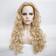 StrongBeauty Women's Blonde Long Curly Wig Naturally Synthetic Full Wigs