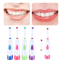New 1 Set Rotating Anti Slip Waterproof Electric Toothbrush Soft Tooth Brush With 1PCS Brush Heads Dental Care Toothbrush