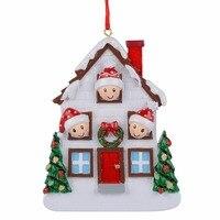 Großhandel Harz Bär Familie Von 3 Weihnachten Ornament Personalisierte Geschenk Schreiben Ihre Eigenen Namen Für Urlaub Wohnkultur Miniatur Handwerk