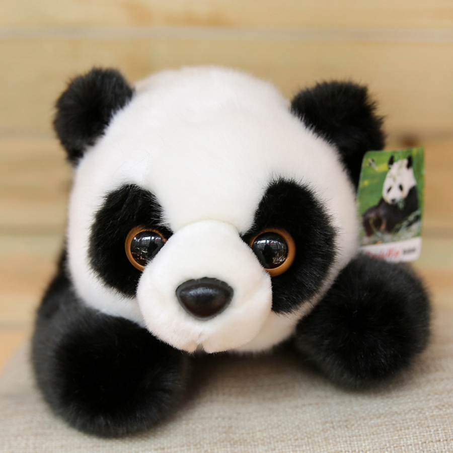 Cute Kawaii Plush Panda Bear Stuffed Animals Urso Doll Plush Dolls Toys For Children Valentine Birthday Present Gift 50T0434 40cm 50cm cute panda plush toy simulation panda stuffed soft doll animal plush kids toys high quality children plush gift d72z