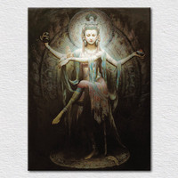 Ручная роспись маслом, фотографии на стене гостиная, холст картины, фрески quadros де Parede сала ЭСТАР