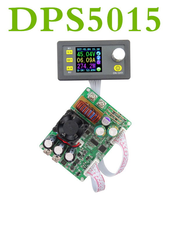 DPS5015 15A Digital  LCD voltmeter Constant Voltage current Step-down Programmable Power Supply buck Voltage converter ammeter  цены