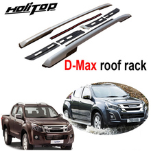 Roof-Rack Screws for Isuzu D-Max Oxidized Aluminum Installed by Very-Stable New-Arrival